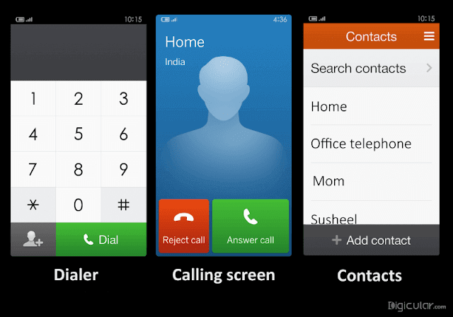 calling screen lite mode in MIUI 7