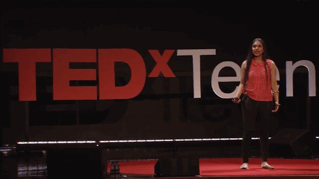 Trisha prabhu at tedx teen cyber bullying