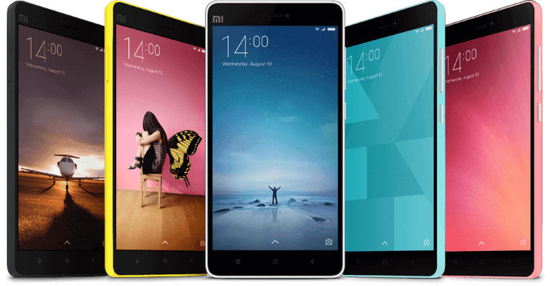 Feature rich MIUI Xiaomi smartphones