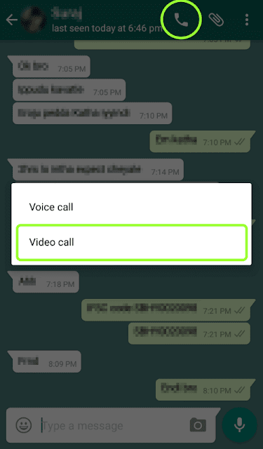 Whatsapp Voice and video call
