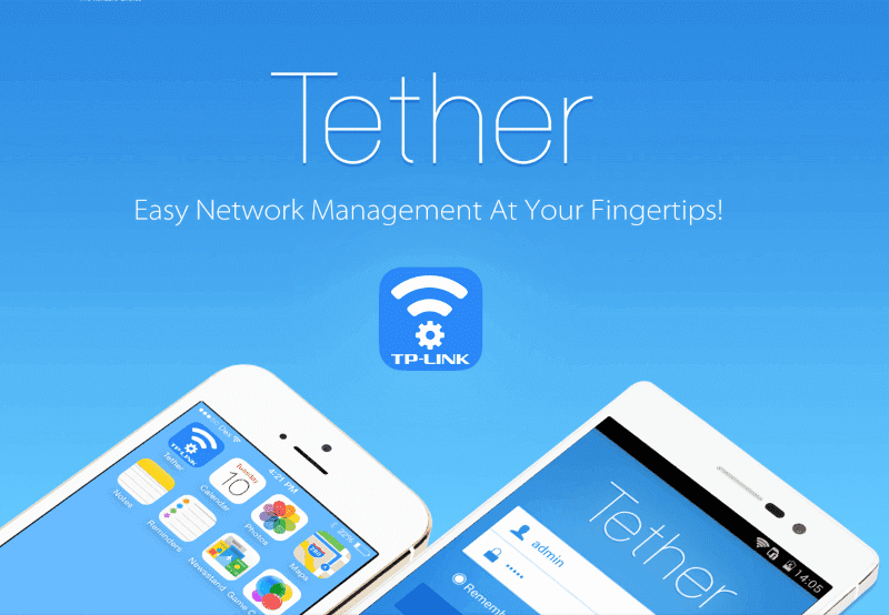 TP link tether android app control TP-link routers from phone