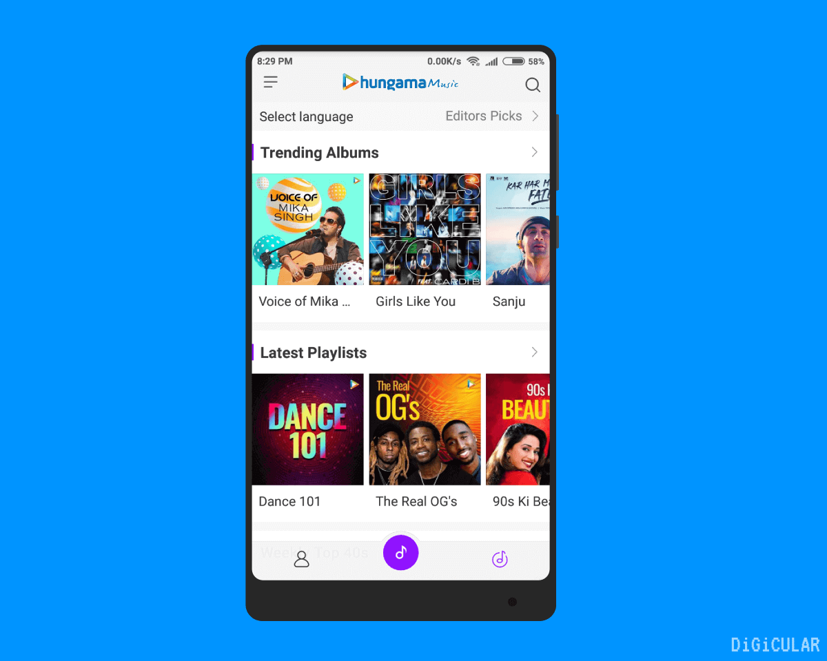 Mi Music Hungama music MIUI 10 Indian features