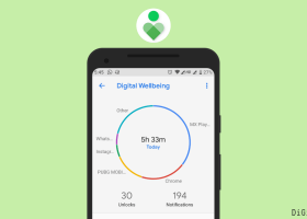 Google digital wellbeing app walkthrough guide stop addiction